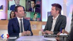 Interrogé sur son potentiel premier ministre, Benoît Hamon botte en