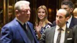 ¿La reunión de Ivanka y Al Gore? Pura cortina de