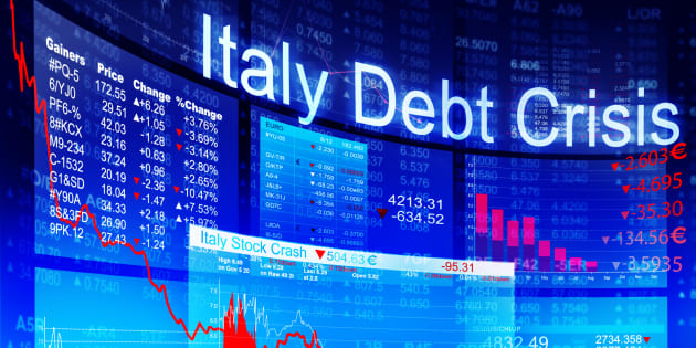 Group of People Discussion about Italy Debt Crisis