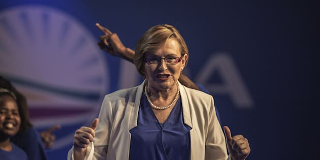Western Cape premier Hellen Zille during the opening of the Democratic Alliance's federal dongress on May 9 2015 in Port Elizabeth, South Africa.