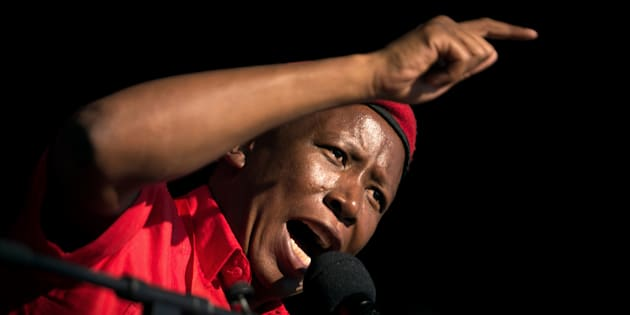EFF Unapologetic About Malema's Anti-Indian Remarks