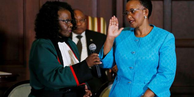 Tourism Minister Tokozile Xasa.