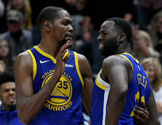 Warriors concerned about Durant's future with team