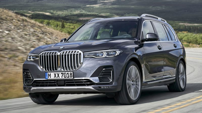 2019 BMW X7 flagship SUV officially revealed - Autoblog