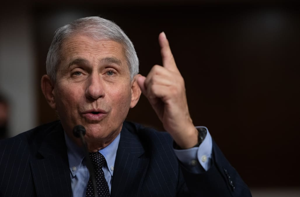 Fauci 'absolutely not' surprised Trump got sick after flouting social distancing advice