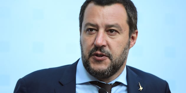 Italy's Matteo Salvini attends a news conference about a trilateral meeting, during an informal meeting of EU Home Affairs Ministers in Innsbruck, Austria, July 12, 2018. REUTERS/Lisi Niesner