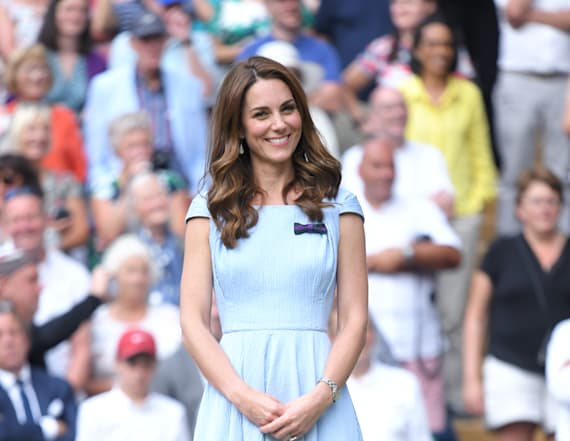 Kate Middleton arrives for Wimbledon date with Will