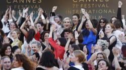 Estrellas del Festival de Cannes exigen igualdad