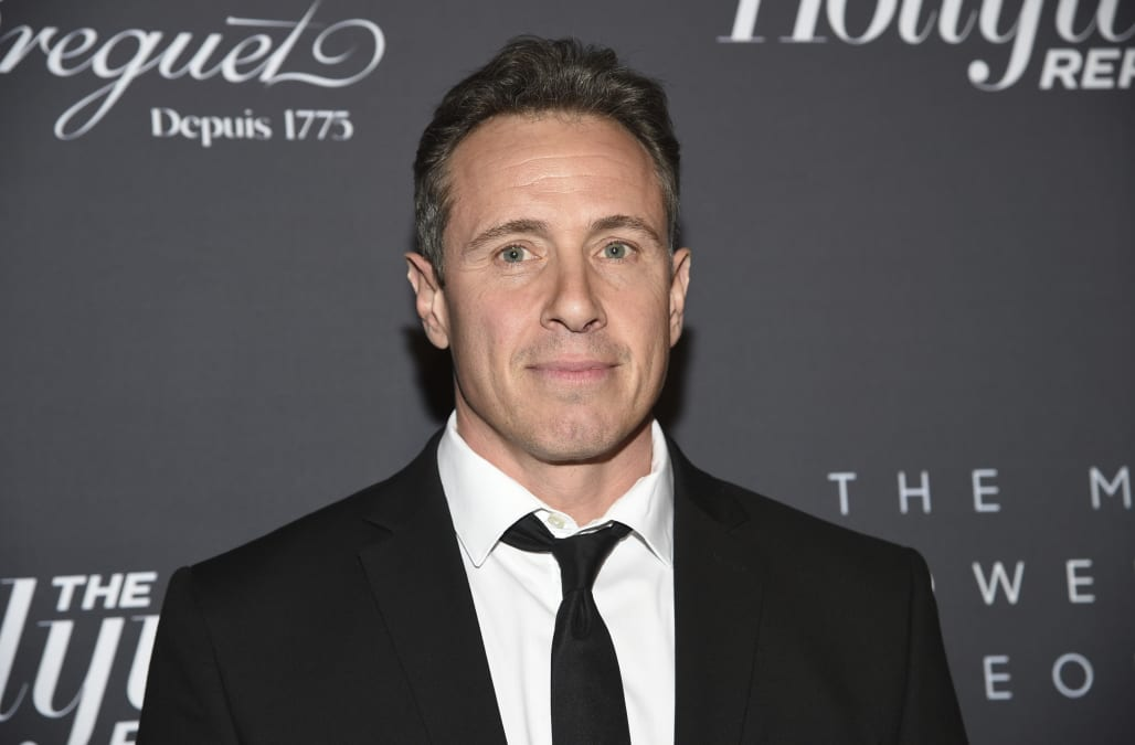 CNN host Chris Cuomo reveals he's tested positive for COVID-19