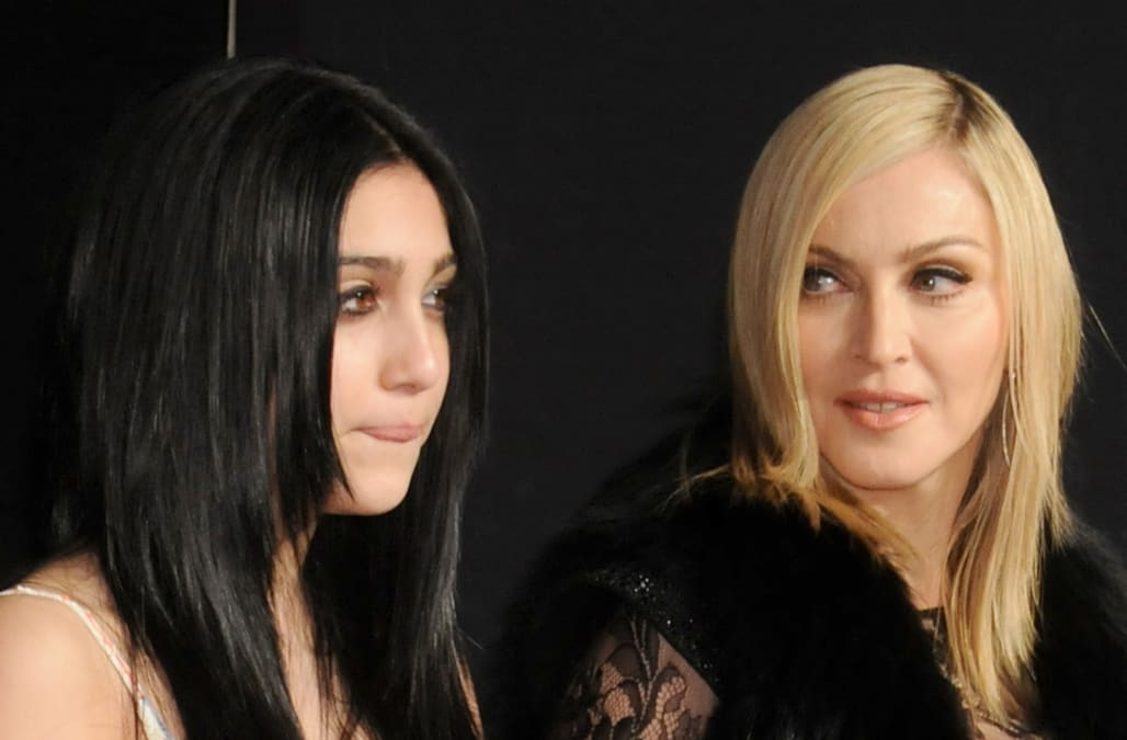 Madonna's daughter Lourdes leaves little to the ...