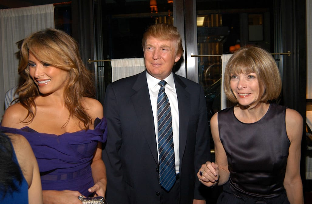 f6ed00887e99 Melania Trump responds to Anna Wintour's Vogue cover comments - AOL ...