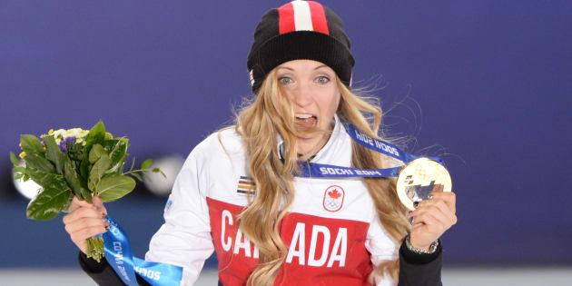 Justine Dufour-Lapointe avait remporté l'or en ski de bosses à Sotchi en 2014.