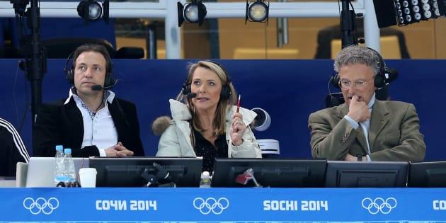 C'est un mauvais départ pour Nelson Monfort et son équipe de commentateurs pour les jeux d'hiver de Pyeongchang.