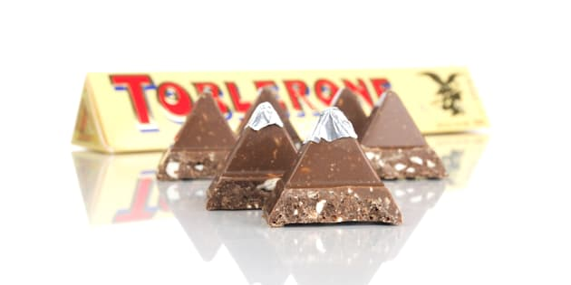 (GERMANY OUT) Toblerone Schokolade (Photo by Ralph Kerpa/McPhoto/ullstein bild via Getty Images)