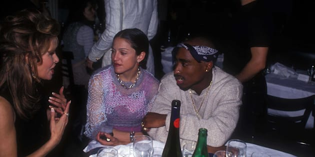 Tupac confesó que terminó a Madonna por ser blanca