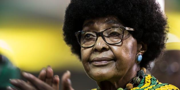 Winnie Madikizela-Mandela foi a segunda esposa de Nelson Mandela.