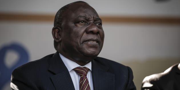 President Cyril Ramaphosa.