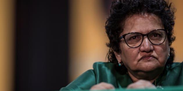 ANC deputy secretary-general Jessie Duarte.