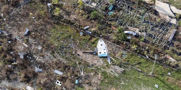 Daños causados por el Irma en la isla de Anguilla, en las Islas Vírgenes Británicas.