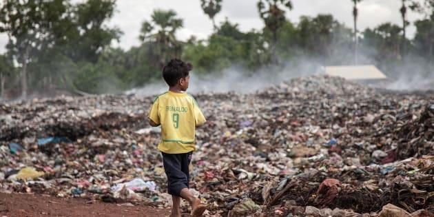 Trabalho infantil no Brasil.