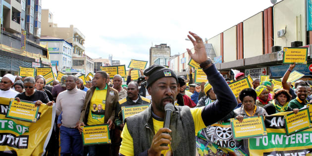 ANC members from the eThekwini region.