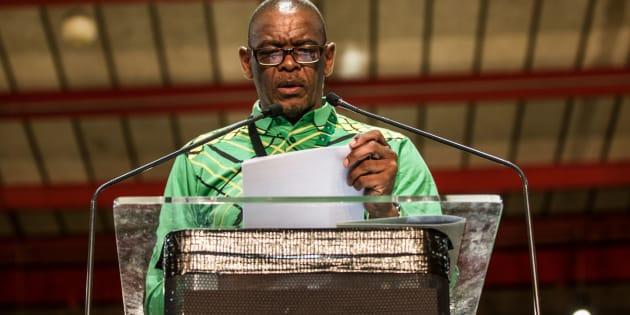 ANC secretary-general Ace Magashule.