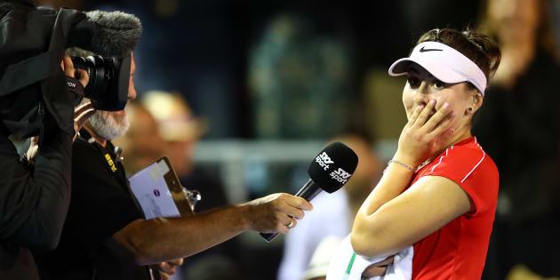 Contre toutes attentes, la Canadienne Bianca Andreescu atteint la demi-finale de la Classique d'Auckland.
