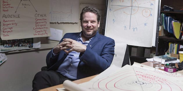 Director Albert Schultz is pictured in his office in Toronto's Young Centre for the Performing Arts on March 20, 2017.