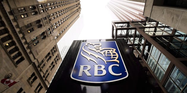A Royal Bank of Canada sign is shown in the financial district in Toronto on Tuesday, Aug. 22, 2017.