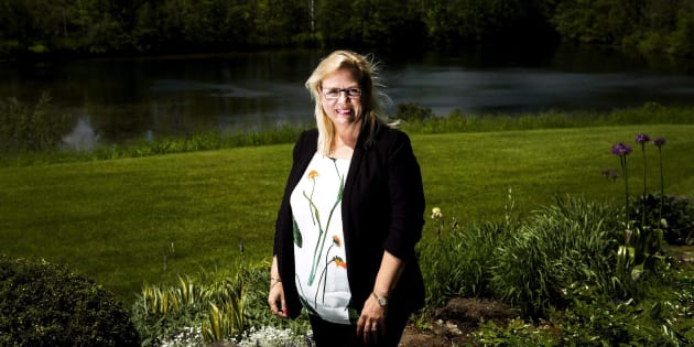Jeannette VanderMarel, co-CEO of 48North Cannabis Corp., at her home in Ancaster, Ont. June 1, 2017.