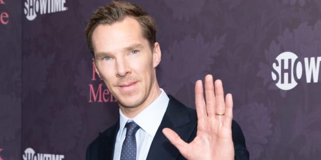 Benedict Cumberbatch à Los Angeles le 25 avril 2018.