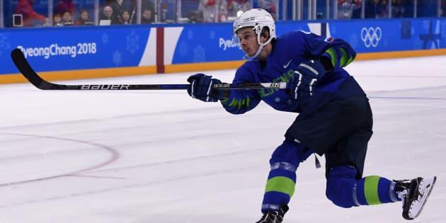 JO de Pyeongchang 2018: Ziga Jeglic, hockeyeur slovène, contrôlé positif