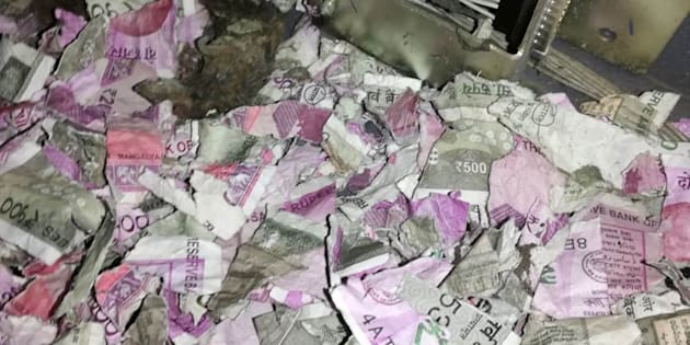 Inde : des rats grignotent plus d'un million de roupies dans un distributeur de billets