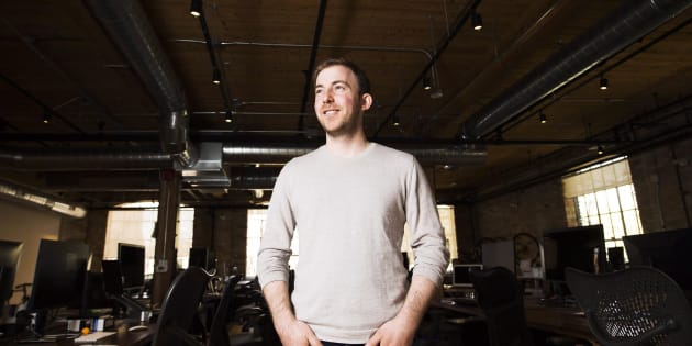 Michael Kitchen, CEO of Wealthsimple, poses for a photograph at his office in Toronto on Thursday April 27, 2017. Wealthsimple has launched a new investment portfolio for observant Muslims.