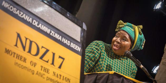 Former African Union chair Nkosazana Dlamini-Zuma.
