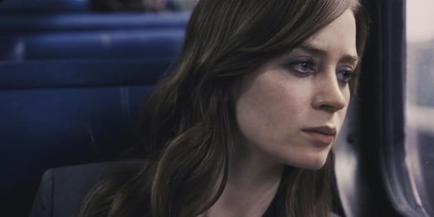 Emily Blunt plays Rachel, a woman devastated by loss and drink