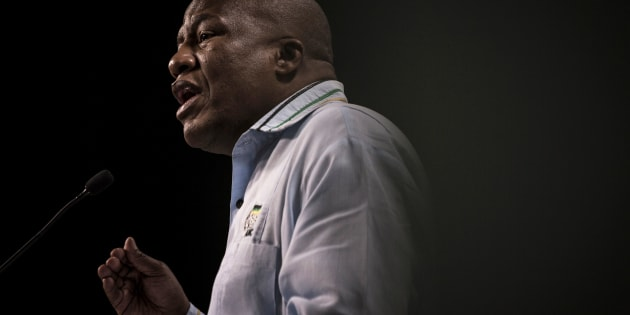 South Africa's ruling party African National Congress' (ANC) chief whip, Jackson Mthembu.