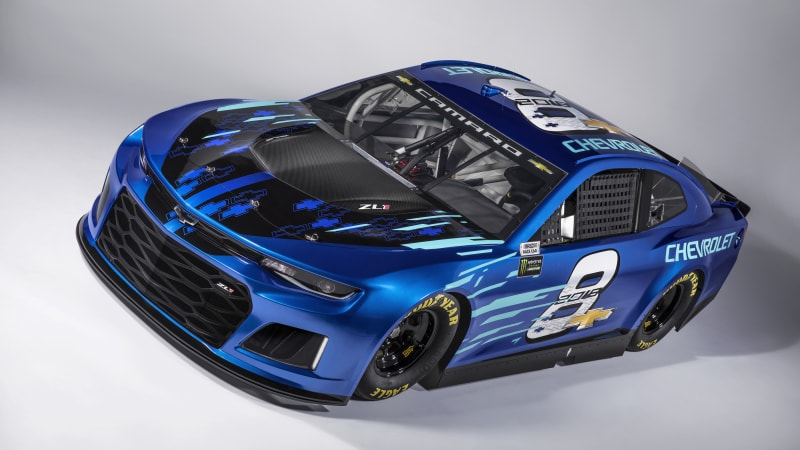 Chevy Camaro ZL1 to replace Chevy SS in NASCAR next year
