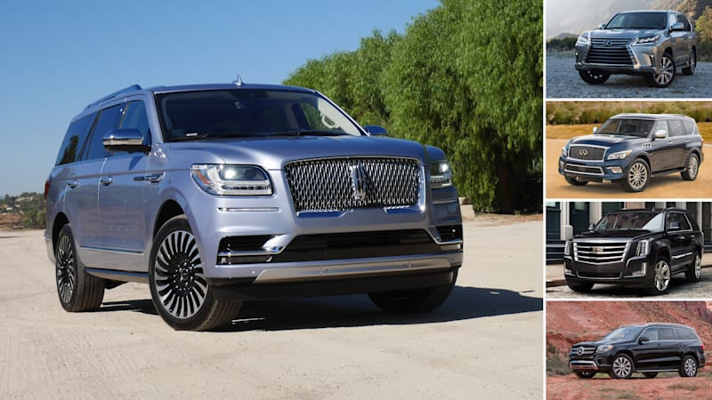 Comparing The 2019 Lincoln Navigator With Large Luxury Suvs Under