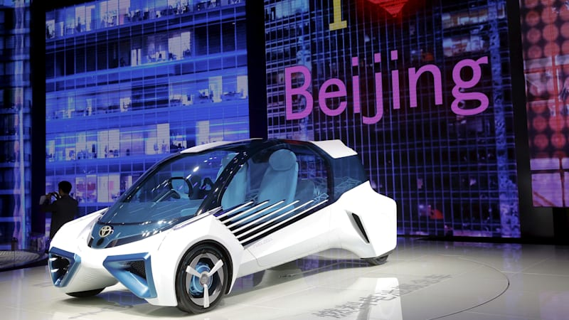 Toyota to build fuel-cell cars with Chinese partners