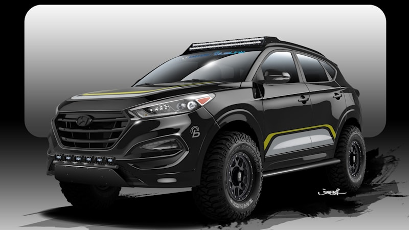Rockstar Performance Creates Off Road Hyundai Tucson For