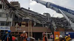 Mexicanos buscan reconstruir CDMX después del