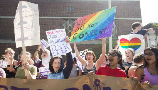 Ontario Students Walk Out Over Sex-Ed
