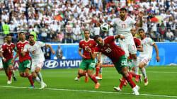 Le magnifique but contre son camp de ce joueur du Maroc face à
