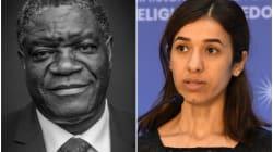 ノーベル平和賞、コンゴの医師デニ・ムクウェゲさんとナディア・ムラドさんが受賞。性暴力根絶を訴える