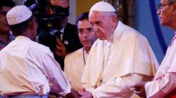Le pape a prononcé le mot