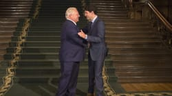 Trudeau Backs 25 Toronto MPs Calling Out Doug Ford's