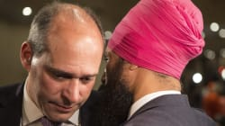 Jagmeet Singh choisit Guy Caron comme chef