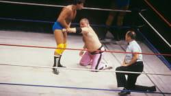 Le lutteur Jim Neidhart est