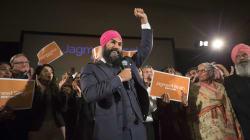Jagmeet Singh Wins NDP Leadership Race On 1st